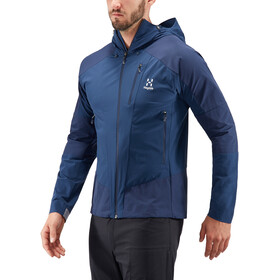 Haglöfs M's Skarn Hybrid Jacket Tarn Blue